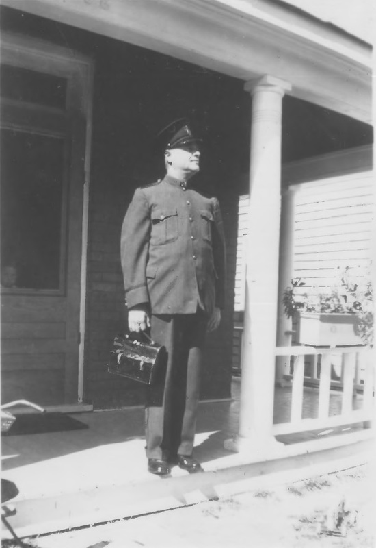 Harry Dorion in Attendant uniform