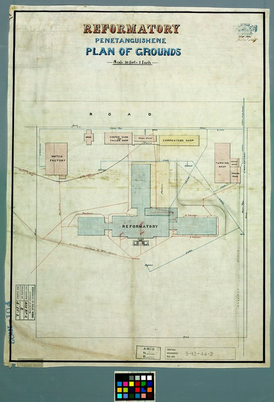 Plan of Reformatory Grounds
