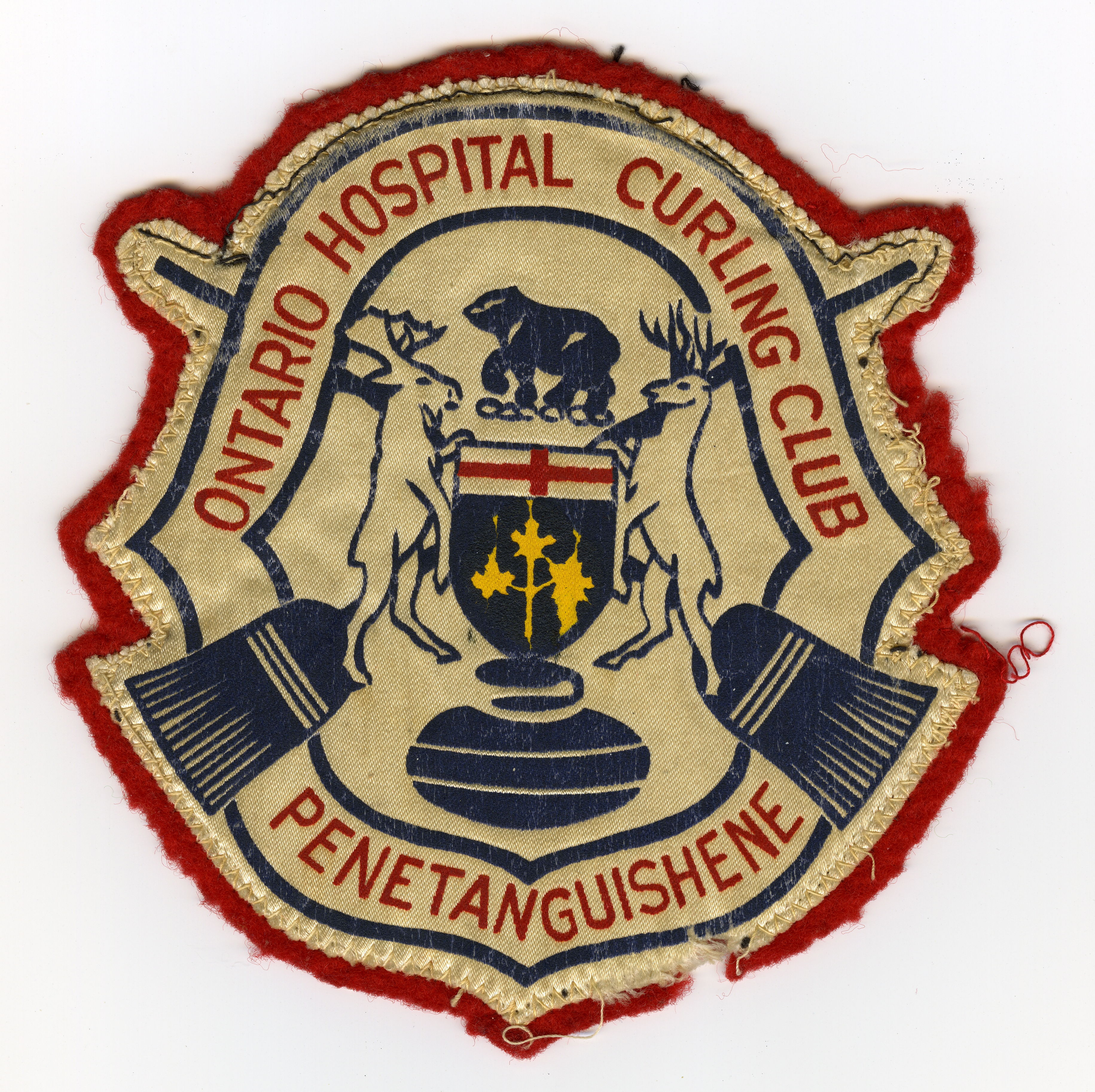 Ontario Hospital Curling Club Penetanguishene patch
