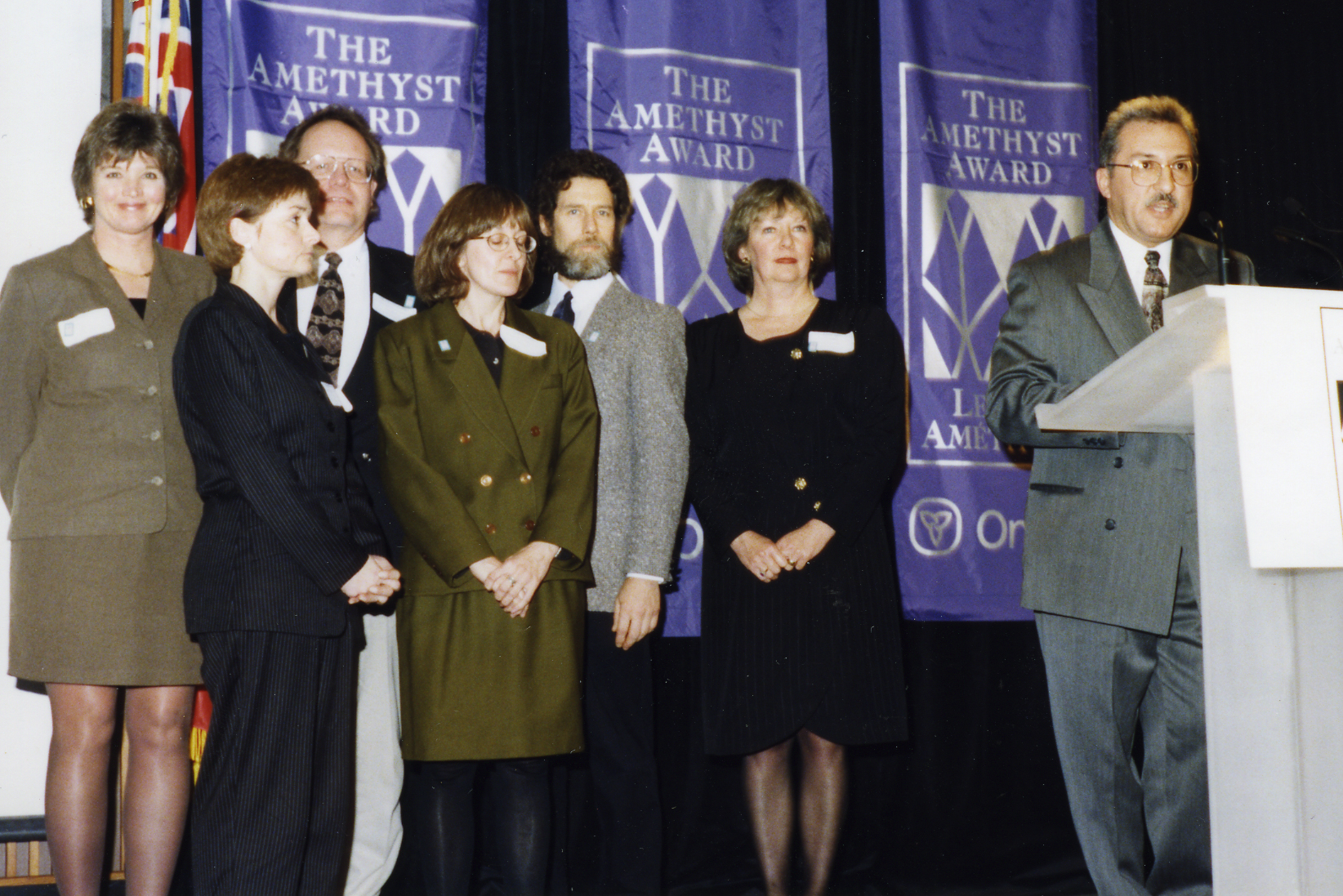 Research Department receives Amethyst Award
