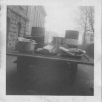 Loaded food wagon