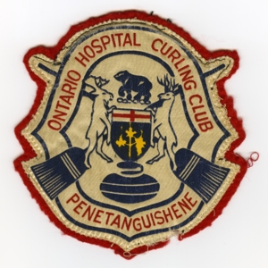 Ontario Hospital Curling Club patch