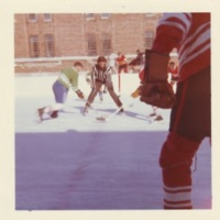 Patients playing ice hockey, Oak Ridge rink, exterior, 1970s-a.jpg
