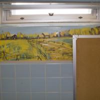 Murals in classroom