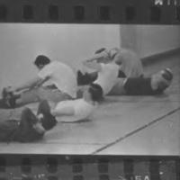 Patients exercising