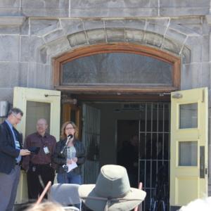 Ceremonial closing of Oak Ridge