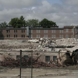 Demolition of Oak Ridge, 3 of 4 wings