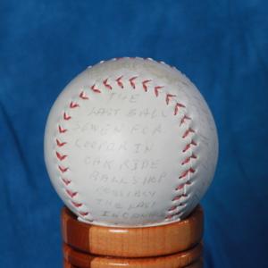 Last baseball