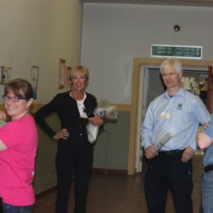 Staff during patient move