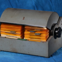 Rolodex of patient discharges from Oak Ridge