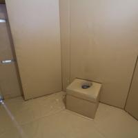Inside padded room