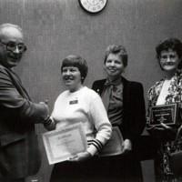Volunteer Appreciation Dinner, Spring 1989