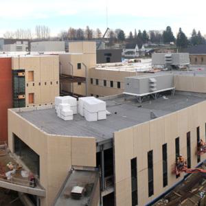 Atrium construction, November 20, 2012